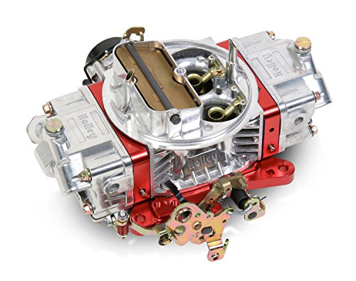 Holley 0-76750RD 750 CFM Ultra Double Pumper Four Barrel Street/Strip Carburetor - Red
