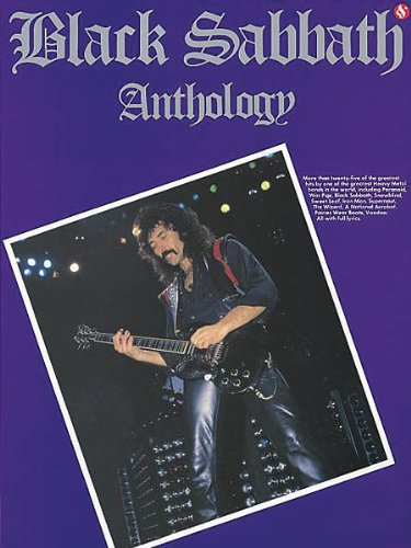 Black Sabbath Anthology - Guitar Songbook with Notes and TAB