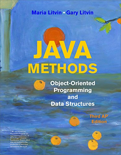 Java Methods: Object-Oriented Programming and Data