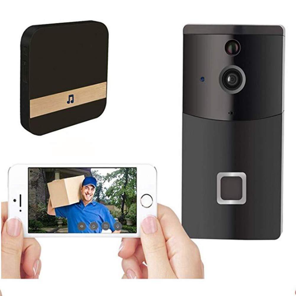 Wasserdichte WiFi Türklingel Kamera Video-Auge IP Video Intercom Wireless Visuelle Türklingel Dooreye Überwachung Nachtsicht Visual