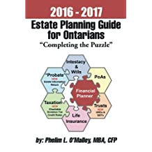 "2016 - 2017 Estate Planning Guide for Ontarians - ""Completing the Puzzle"""