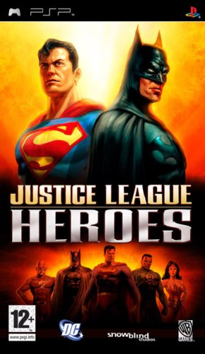 Justice League Heroes - PSP - Psp Games For Teen