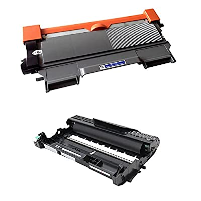 Do it Wiser Compatible Pack Toner & Drum for Brother DCP-7060D DCP-7065DN HL-2220 HL-2250DN HL-2230 HL-2240 HL-2240D HL-2270DW HL-2280DW - TN450 DR420 - Black Yield 2,600 & Drum 12,000