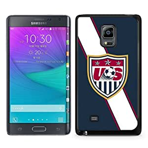 Beautiful Samsung Galaxy Note Edge Cover Case ,Newest And Durable Designed Case With USA Soccer 4 Black Samsung Galaxy Note Edge Case Unique And Cool Phone Case