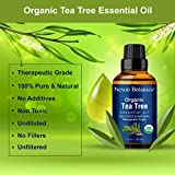 Organic Tea Tree Oil 30 ml - Melaleuca Alternifolia Oils - Pure, Natural Undiluted Therapeutic Grade Tea Tree Essential Oil For Hair, Skin and Scalp from Nexon Botanics