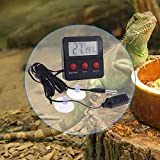 Digital Terrarium Thermometer and Hygrometer with
