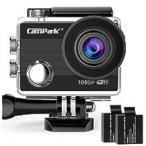 アクションカム 4k wifi搭載 スポーツカメラ 1080P ウェアラブル...