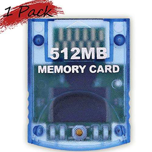 Memory Card 512MB(8192 Blocks) for Nintendo Wii Game Cube NGC Gc (Wii Console Memory Card)