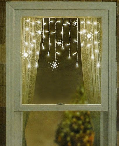 amazon com sienna set of 50 twinkling shimmering clear window
