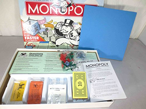 Rare Monopoly Board Game Parker Brothers 1999 TOKEN CAMPAIGN