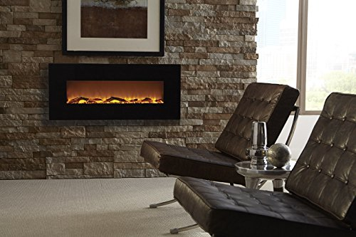 Amazon.com: Touchstone 80001 Onyx Wall Mounted Electric Fireplace ...