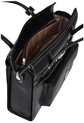 McKleinUSA WENONAH 96669 Pink Leather Ladies' Briefcase by McKleinUSA (Image #2)