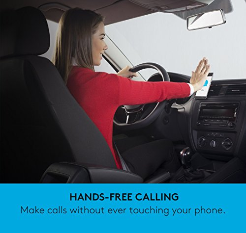Logitech ZeroTouch with Amazon Alexa - Hands-free Car Mount and Voice Assistant App - exclusively for Android Phones - Dashboard Mount by Logitech (Image #7)