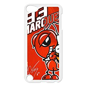 Marc Marquez 93 For Ipod 5 White Custom Cell Phone Case Cover 99II933485