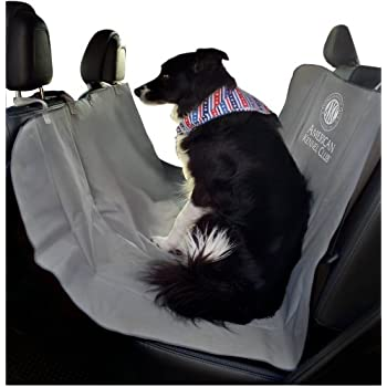 Amazon Com American Kennel Club Pet Car Seat Cover Gray