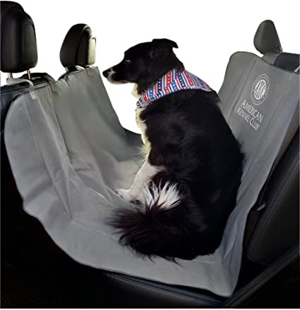 American Kennel Club Pet Car Seat Cover Gray