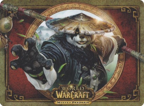World Of Warcraft Mouse Pads (World of Warcraft: Mists of Pandaria Limited Edition Chen Stormstout Mouse Pad)