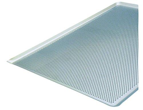 Cuisine et Talents - Lámina de aluminio perforada (60 x 40 cm) 40 x 30 cm Ht 1,5 mm Mallard Ferriere