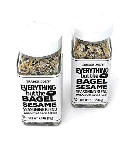Trader Joe's Everything but The Bagel Sesame Seasoning Blend (Pack of 2) Creamy Potato Soup Recipe