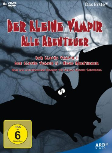The Little Vampire / The Little Vampire - New Adventures - 8-DVD Box Set ( Der kleine Vampir / Der kleine Vampir - Neue Abenteuer ) [ NON-USA FORMAT, PAL, Reg.2 Import - Germany ]