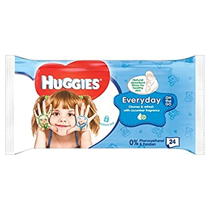 Huggies toallitas para bebés On-The-Go 24 por paquete