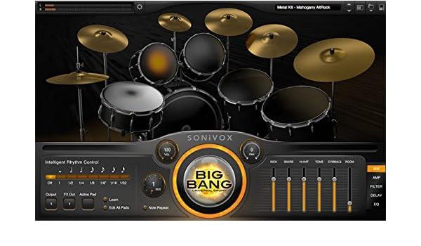 SONIVOX BIG BANG - UNIVERSAL DRUMS INSTRUMENTO VIRTUAL DE PERCUSIÓN: Amazon.es: Instrumentos musicales