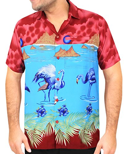 """Cheap price LEELA Likre Vacation Party Shirt Matching_2   Chest """" -"""