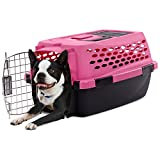 Cheap You & Me Relaxing Refuge Dog Kennel, Pink, 19″ L x 12″ W x 10″ H, XX-Small, Pink / Black