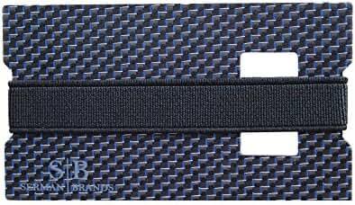 Carbon Fiber Money Clip Credit Card Holder Slim Front Pocket Minimalist Wallet - Emergency Bottle Opener