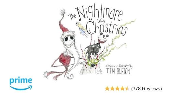 The Nightmare Before Christmas 20th Anniversary Edition Tim Burton 8601404550461 Amazon Books