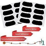 Anteer 60 Pairs Eye Black Stickers for Kids