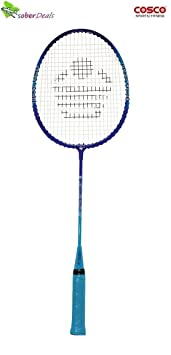 Cosco CB 80 Junior Badminton Racquet This Racket is Best Suited for Recreational Play  Multicolor, Weight   100 g  Badminton Racquets