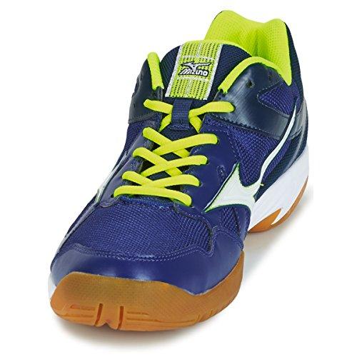 Cyclone Mizuno Homme Flash Speed Speed jaune Bleu blanc Chaussures AqqdBF6xw