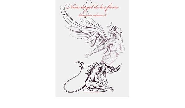 Niña ángel de las flores libro para colorear 6: Volume 6: Amazon ...