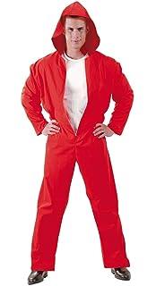 Guirca 88689 - Convicto Capucha Rojo Adulto Talla S 46-48