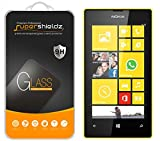 Supershieldz for Nokia Lumia 520 Tempered Glass Screen Protector, Ballistics Glass 0.3mm 9H Hardness Featuring Anti-Scratch, Anti-Fingerprint, Bubble Free -Crystal Clear - Retail Packaging