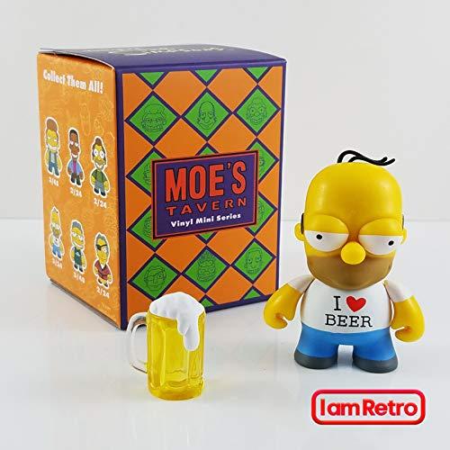 Kidrobot Drunk Homer - Moe's Tavern Simpsons Mini Series Opened Blind Box]()