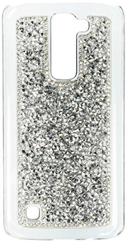 MyBat Case for LG K7, LG Tribute 5, LG L52VL (Treasure LTE), LG Escape 3 - Retail Packaging - (Mybat Rhinestones)