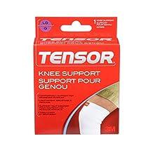 Tensor Knee Support, Large, White, (207859)
