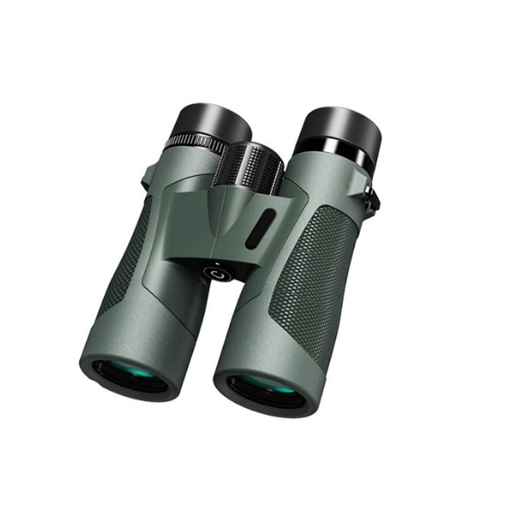 望遠鏡 - 大口径、高精細、ウェアラブルで実用的、コンパクトでスタイリッシュ、外出する必要がある、倍率:8倍| 10倍、サイズ:155×120×51 mm、色:グリーン (Color : Green, Size : 8X) 8X Green B07TQS75GJ