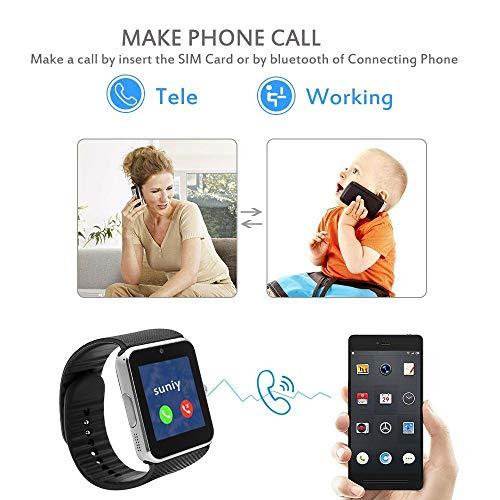 WellWell Bluetooth A1 Smart Watch Touchscreen Multi: Amazon