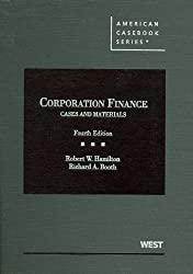 Cases and Materials on Corporation Finance (American Casebook Series)