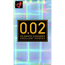 Okamoto 0.02 EX Polyurethane Condom 12pc | Regular Size (Japan Import) (japan import)