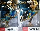 Nintendo amiibo - Link (Archer): Breath of the Wild and Nintendo amiibo - Zelda: Breath of the Wild Set of 2 Bundle for Nintendo 3DS Nintendo 3DS XL Nintendo Switch and Nintendo Wii U (WiiU)