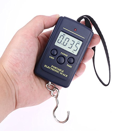40kg/10g 88Lb Portable LCD Electronic Travel Luggage Scale - 8