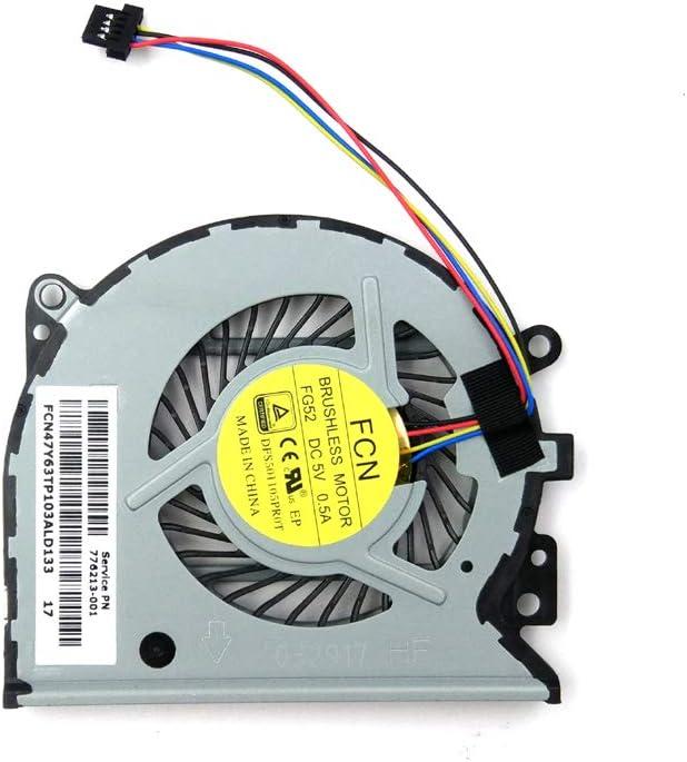 LPH Replacement CPU Fan for HP Envy X360 15-U 15-U010DX 15-U011DX 15-U110DX 15-U111DX 15-U170CA 15-U310NR 15-U337CL 15-U363CL 15-U399NR