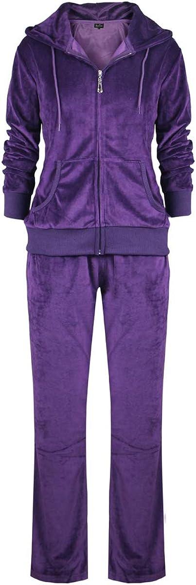 Lee Hanton Mens Active Sports Full Zip 2PCS Jacket /&Pant Tracksuit Set