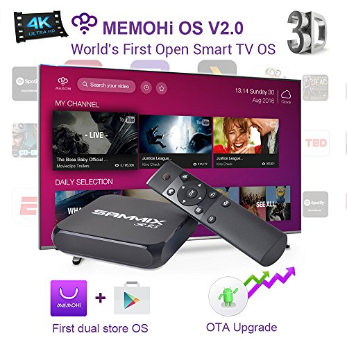Check Out This SAMMIX R95 MEMOHI OS NETWORKING BOX Amlogic S905X 1GB/8GB 3D 4K HD, Experience Editio...
