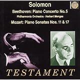 Solomon / Beethoven : Concertos Pour Piano N 5, Op. 73 Empereur - Mozart : Sonates Pour Piano N 11 &