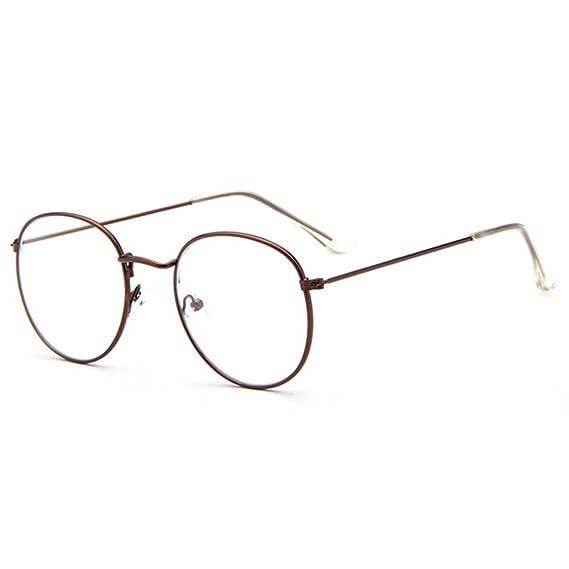 Juleya Gafas de lentes transparentes gafas de lectura decoración Geek de  moda gafas Nerd retro para mujeres Unisexo  Amazon.es  Ropa y accesorios 942f848cc444